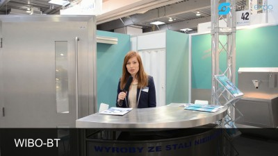 Company stand WIBO-BT Monika Bober - Kuchta on trade show SALMED 2014