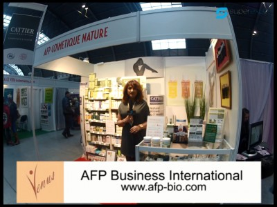 Company stand AFP Business International on trade show VENUS 2013