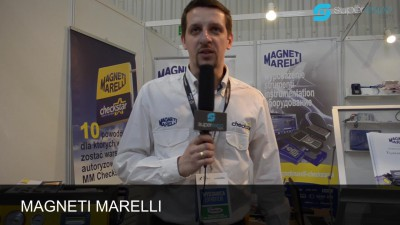 Company stand Magneti Marelli Aftermarket Sp. z o.o. on trade show GASSHOW 2014