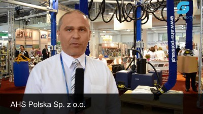 Company stand AHS POLSKA Sp. z o.o. on trade show TAROPAK 2014