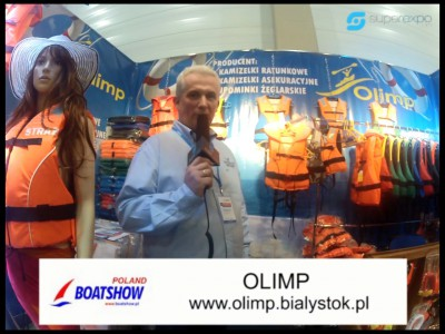 Company stand Olimp on trade show BOATSHOW 2013