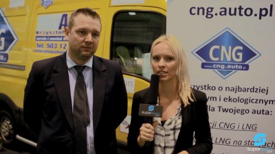 Company stand CNG Auto on trade show POLEKO 2014