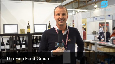Stoisko firmy THE FINE FOOD GROUP na targach ENOEXPO 2014