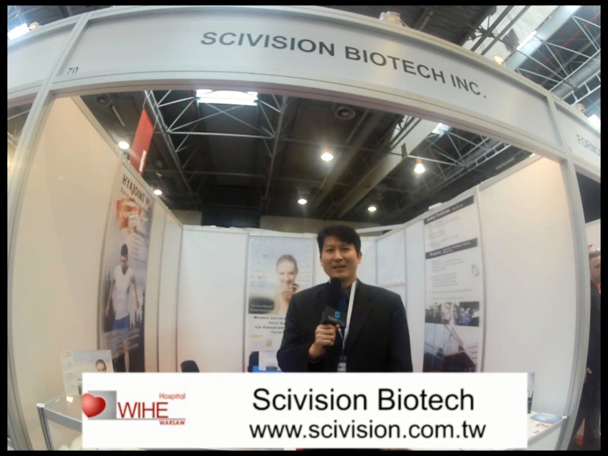 Company stand Scivision Biotech on trade show WIHE HOSPITAL WARSAW 2013