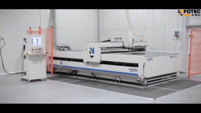 Product, Industrial laser plotter - InfoTEC 3221 LS from company InfoTEC CNC