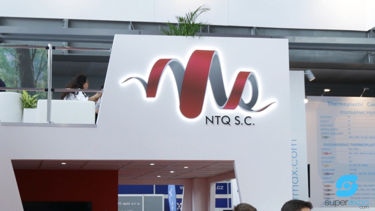 Company stand NTQ S.C. on trade show PLASTPOL 2018