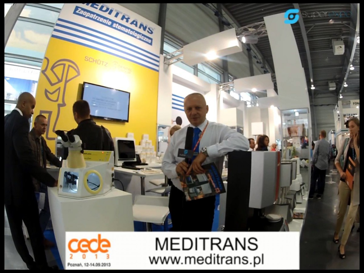 Company stand MEDITRANS on trade show CEDE 2013