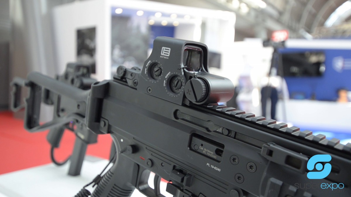 Company stand GRIFFIN GROUP S.A. DEFENCE sp. k. on trade show MSPO & LOGISTYKA 2019
