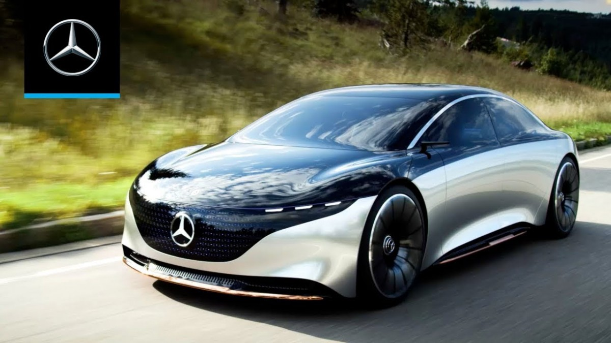 Product, Mercedes-Benz VISION EQS from company Daimler AG / Mercedes-Benz