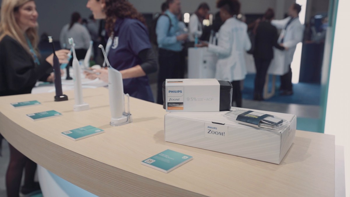 Company stand Philips on trade show INTERNATIONAL CES 2020