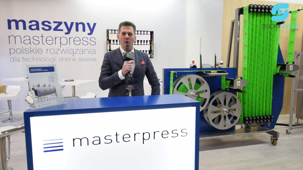 Company stand MASTERPRESS S.A. on trade show WARSAW PACK 2020