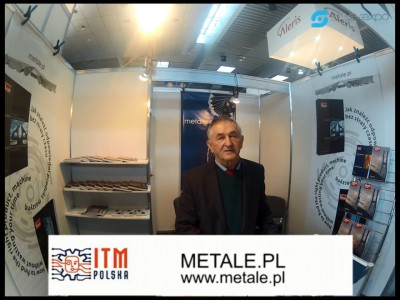 Company stand METALE.PL - METALE AGENCJA PROMOCYJNA on trade show METALFORUM 2013