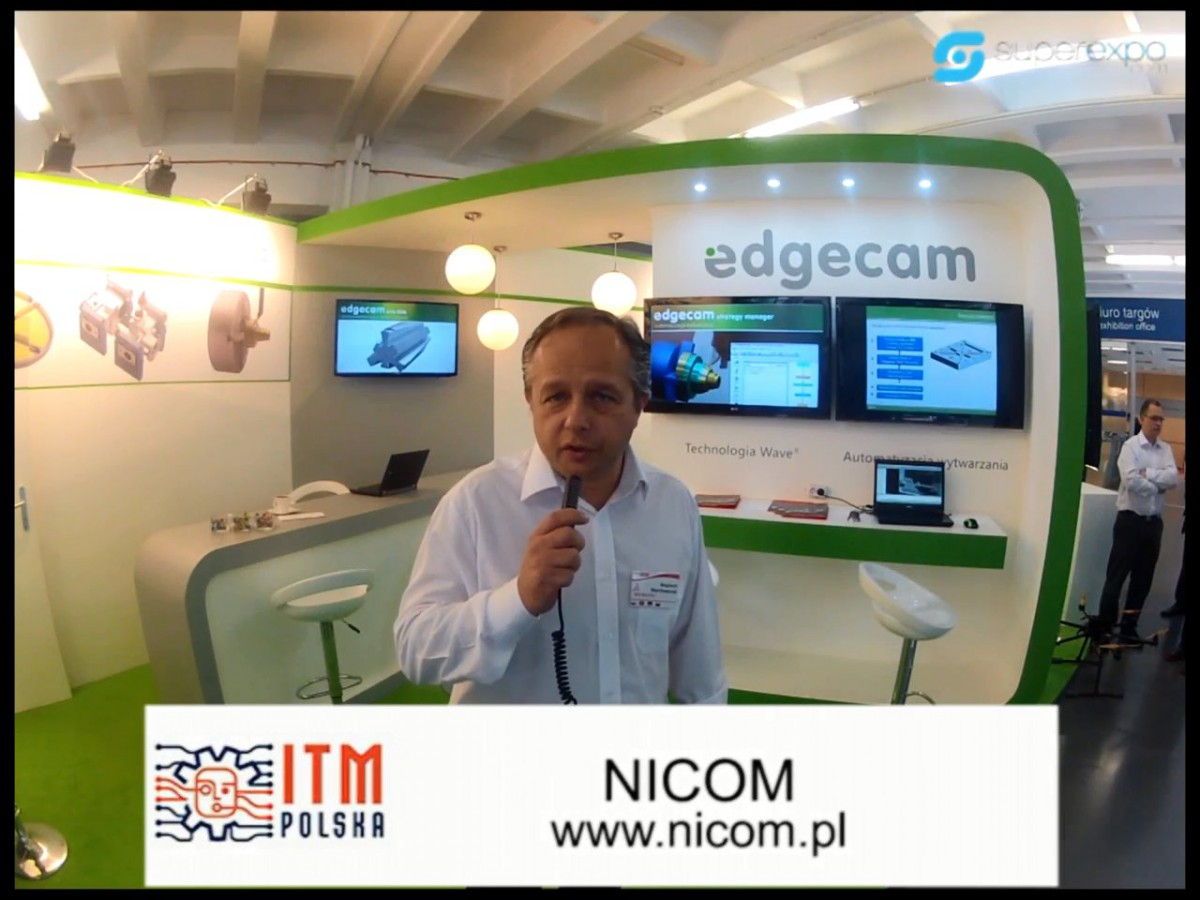 Company stand NICOM on trade show MACH-TOOL 2013