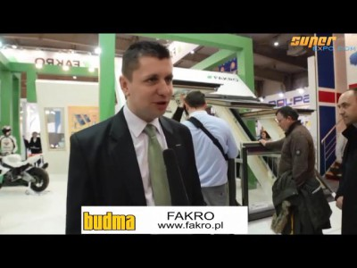 Company stand FAKRO Sp. z o.o. on trade show BUDMA 2013