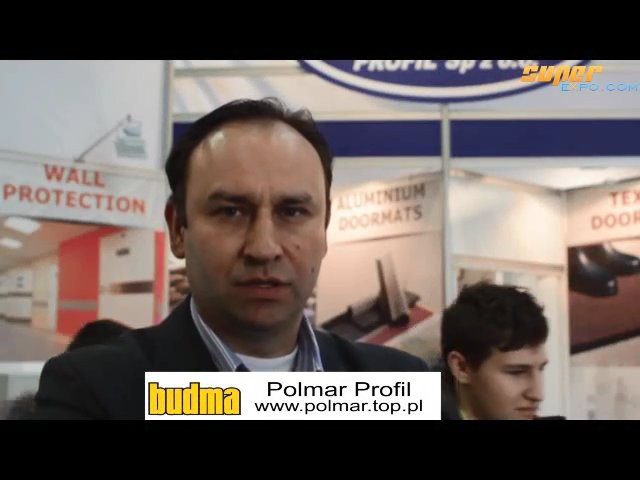 Company stand POLMAR PROFIL Sp. z o.o. on trade show BUDMA 2013